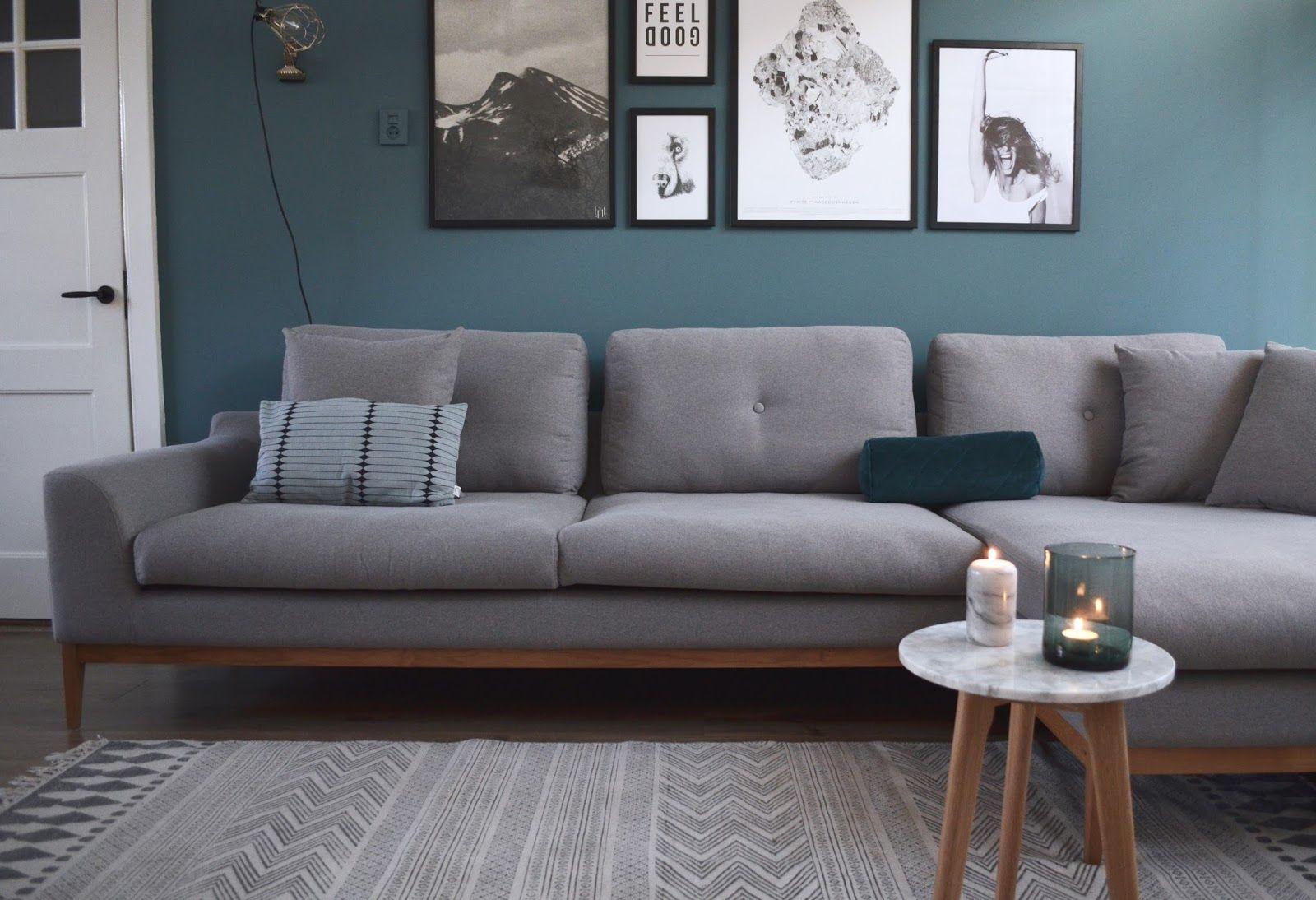 New year - new sofa (van het kastje naar de muur.) | Pinterest ...