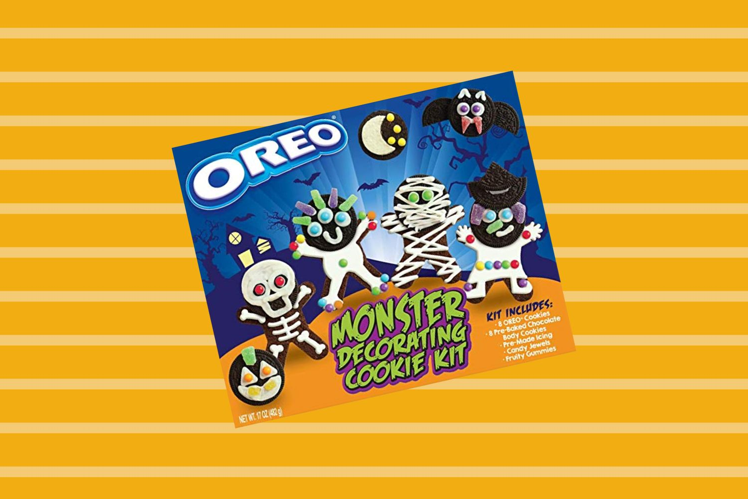 This Oreo Cookie Decorating Kit Is a Halloween Lover's