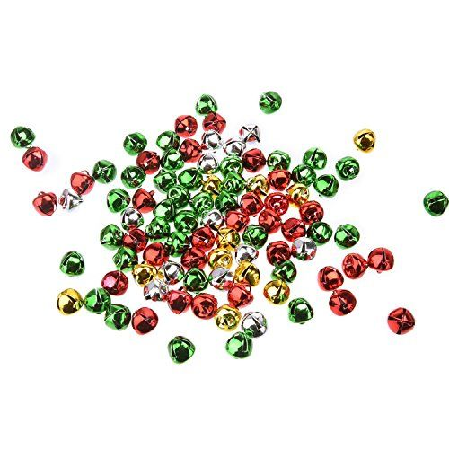 Outus Jingle Bells Small Bell Mini Bells Bulk for Wedding Decoration