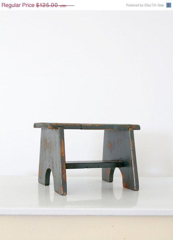 Super Sale Antique Riser Wood Step Stool On Etsy 106 25 Ibusinesslaw Wood Chair Design Ideas Ibusinesslaworg