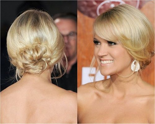10 Hairstyle Ideas That Will Knock 10 Years Off Your Age Trending Pop Page 6 Hair Styles Long Hair Updo Short Hair Up