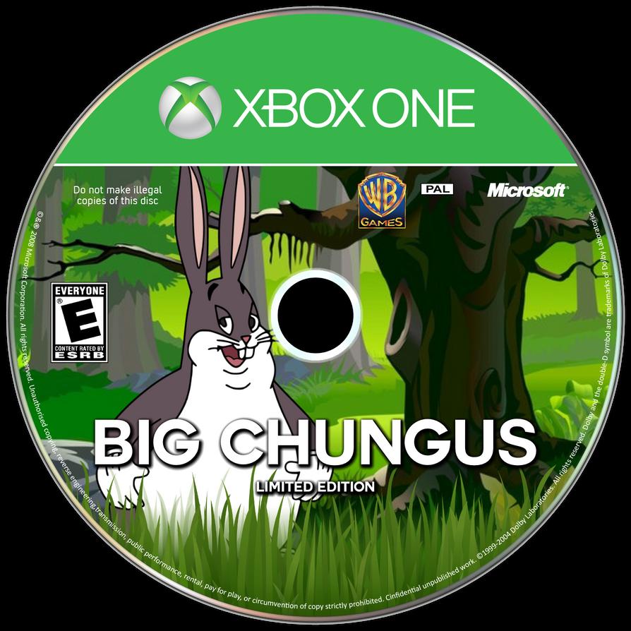 Big Chungus Xbox One Disc By Ineocats On Deviantart Xbox One Xbox Disc
