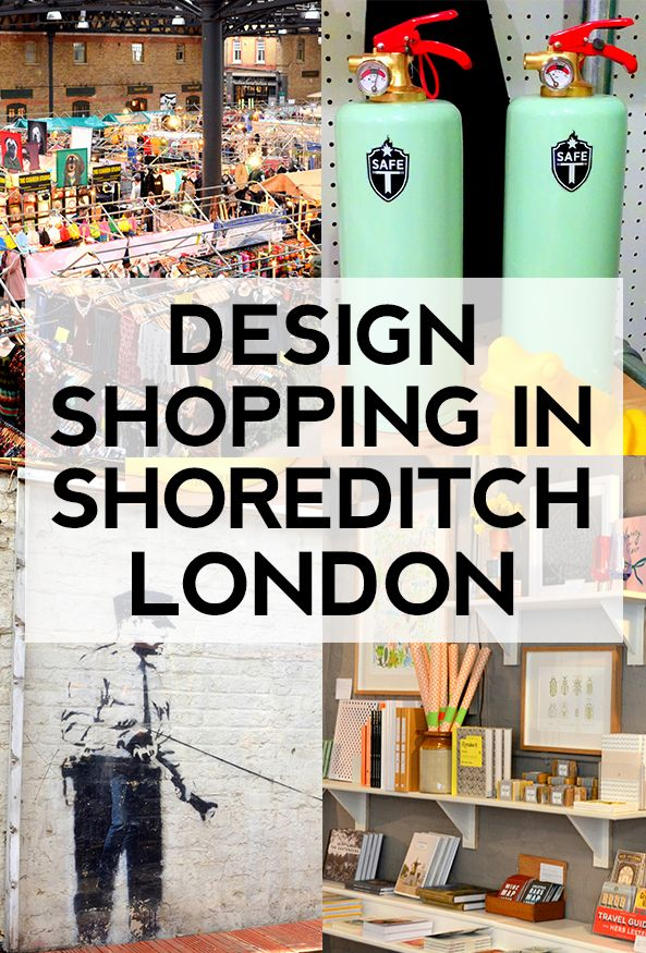 Shoreditch Design Rooms: London: Shoreditch Design & Shopping Walk