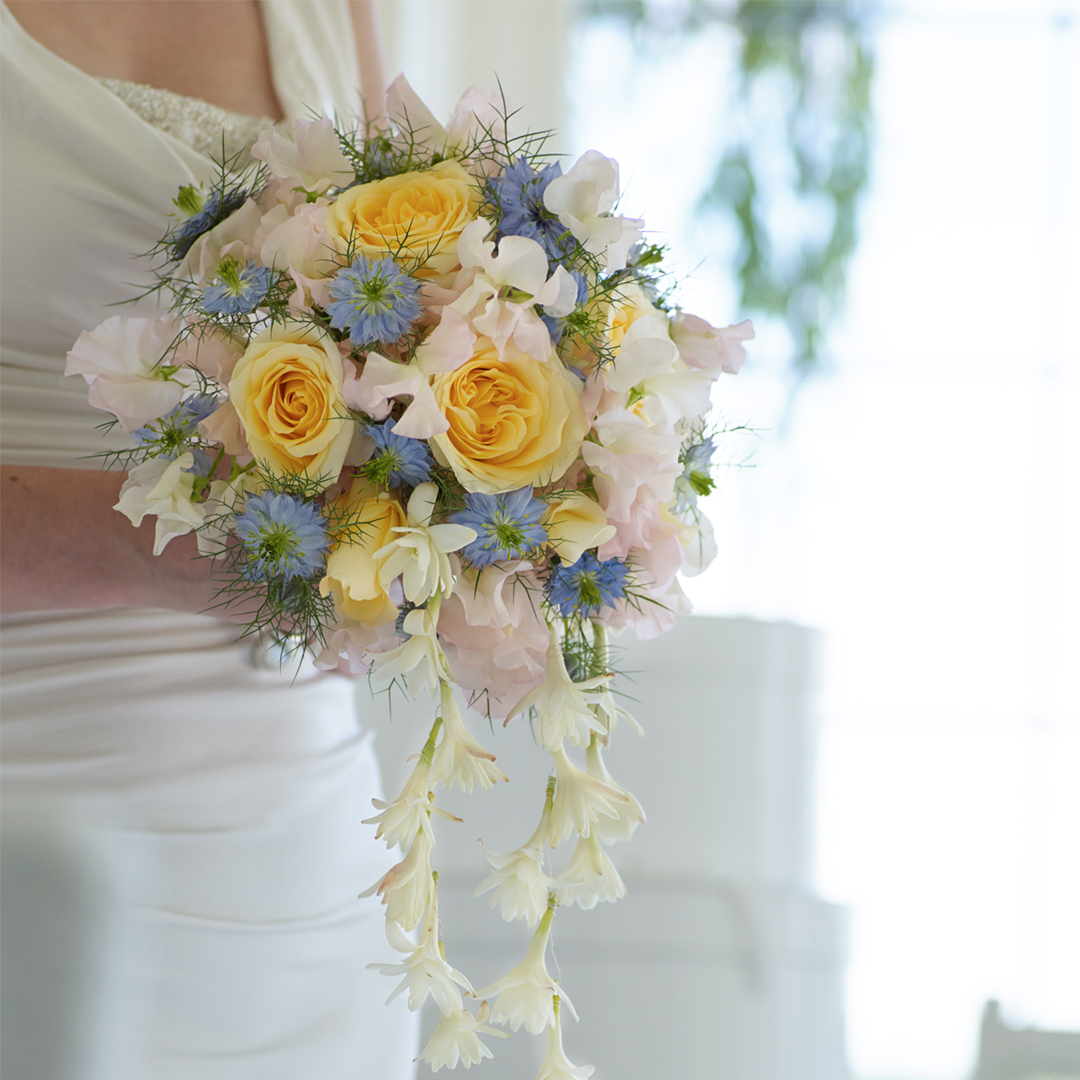 Bridal bouquet from Interflora. Flowers delivered