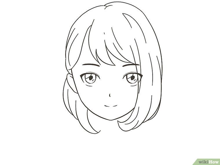 How to draw an anime character 13 steps with pictures