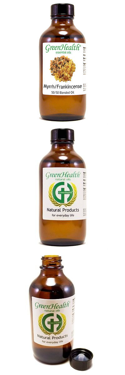 Aromatherapy: 4 Fl Oz Myrrh/Frankince?Nse Blend Essential Oil (100% Pure/Natural)- Greenhealth BUY IT NOW ONLY: $30.99