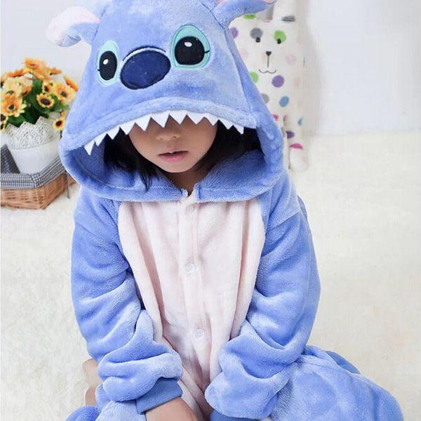Pijamas de animales para niños y niñas   pajamas  enteros  animales  niños   infantiles 2e1a2776af14