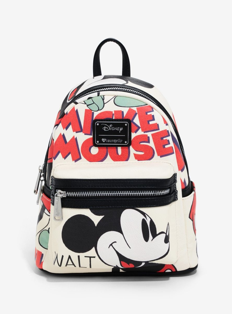dc9201a3384 Disney Mickey Mouse Illustration Mini Backpack in 2019