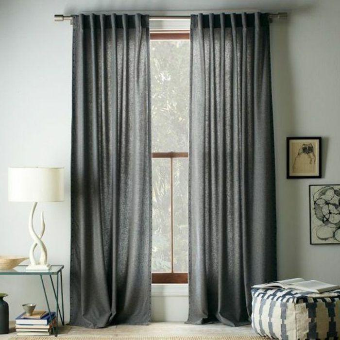 les rideaux occultants les plus belles variantes en photos inga pinterest int rieurs. Black Bedroom Furniture Sets. Home Design Ideas