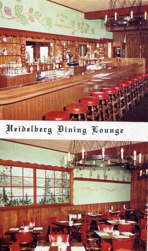 Postcard Of The Heidelberg Dining Lounge In Richfield Minnesota
