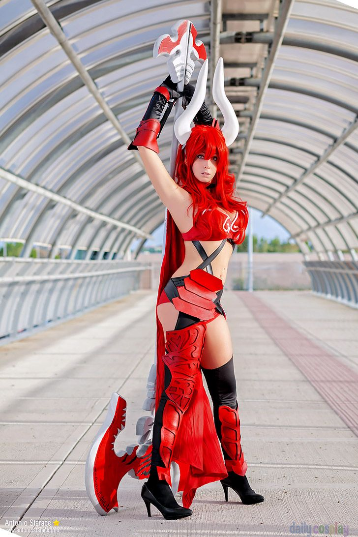 This is Satan (Wrath) cosplay from The Seven Deadly Sins ...