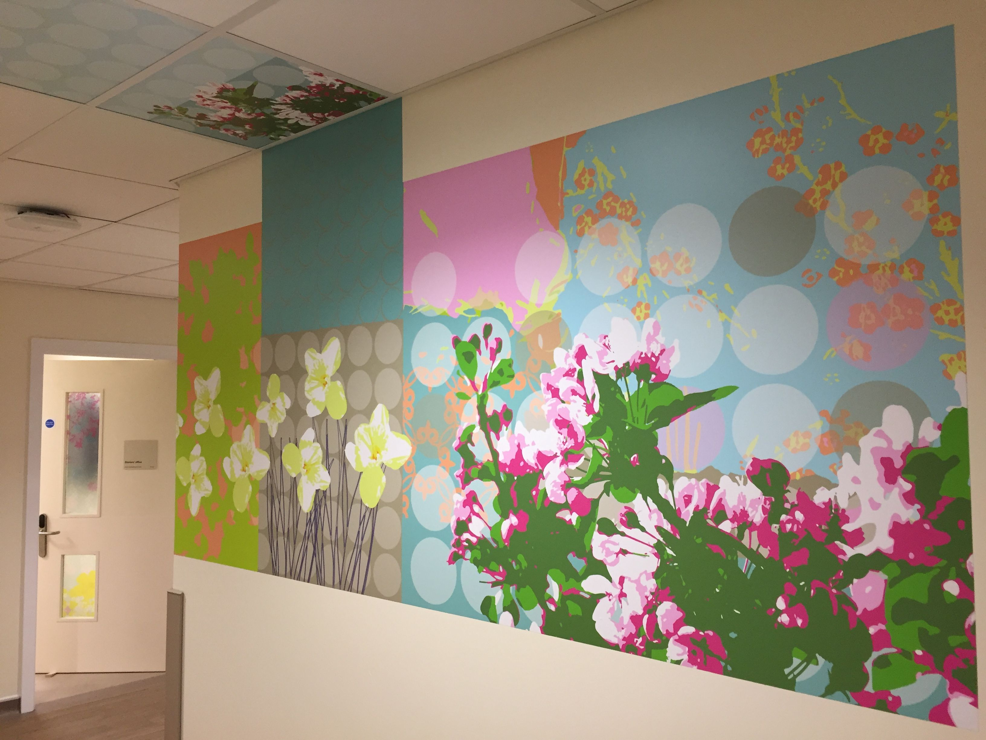 ArtCare rooms with no windows? Add your own focal point. Here we\'ve ...