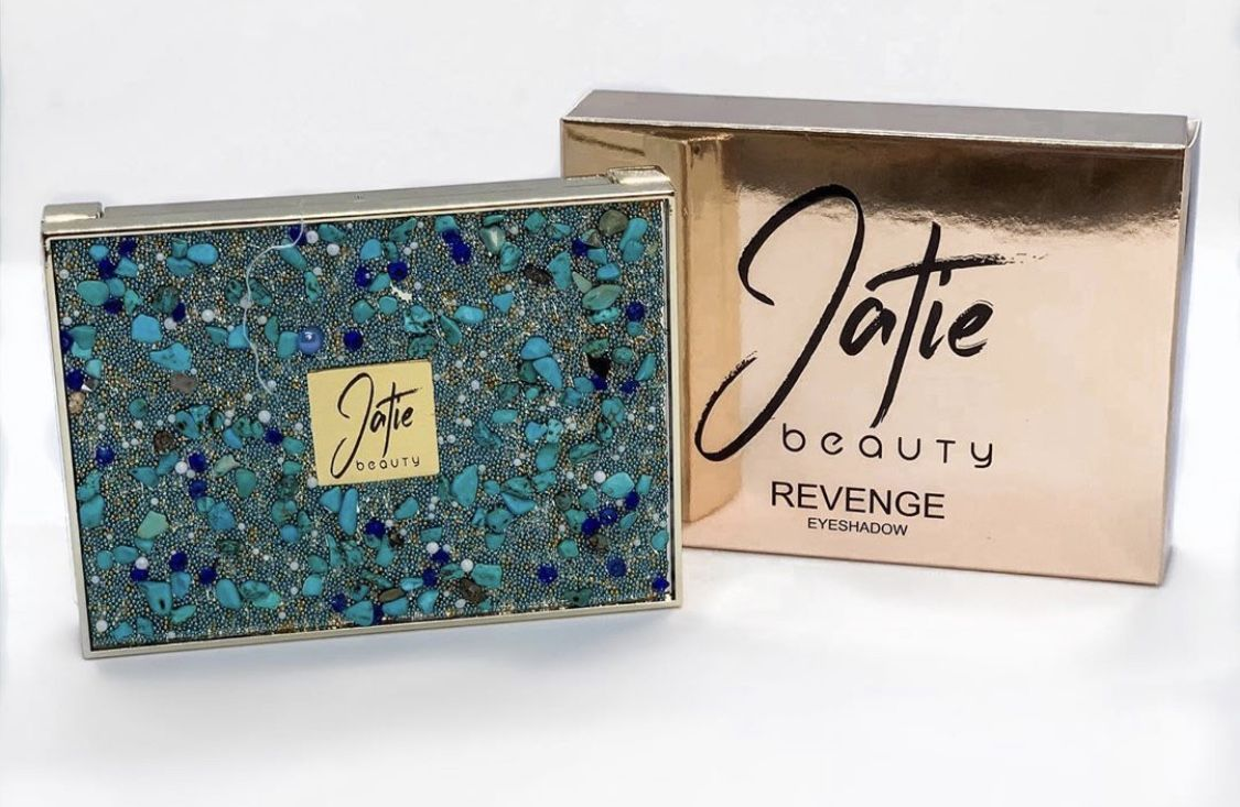 Great palette for everyday and night glam by Jatie Beauty