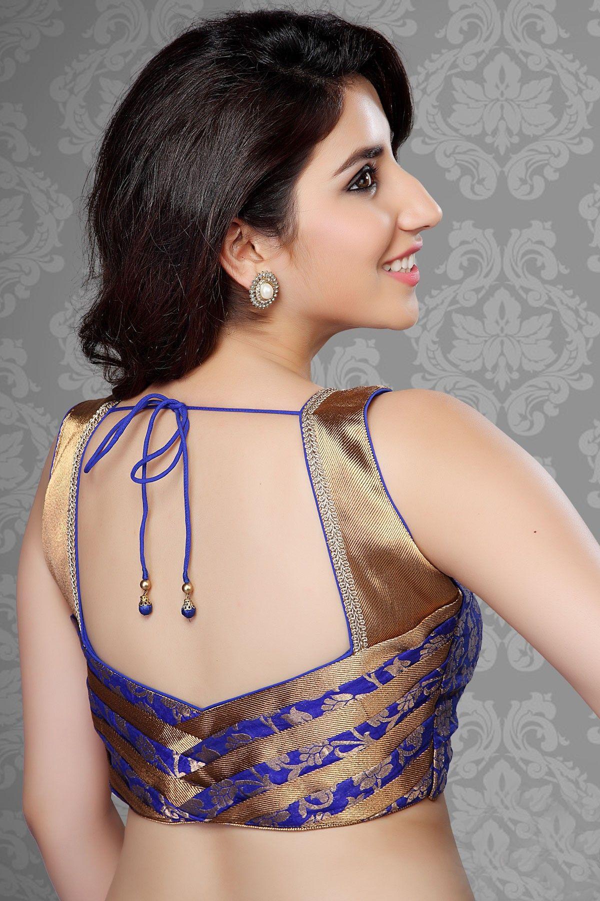 Blouse design | Blouse Designs | Blouse designs, Sari ...