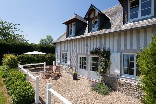 Normandie  maison normande typique, déco bord de mer French Home - Chambre D Hotes Normandie Bord De Mer