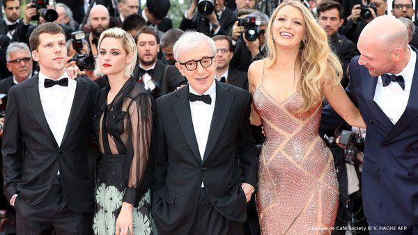 Kristen Stewart, Blake Lively, Jesse Eisenberg, Woody Allen and Corey Stoll in Cannes - Café Society Premiere