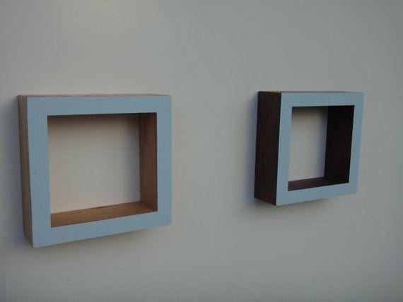 Shadow Box Frame Wall Shadow Box Oak Or Walnut Ocean Blue Products Frames On Wall Shadow Box Frames Frame