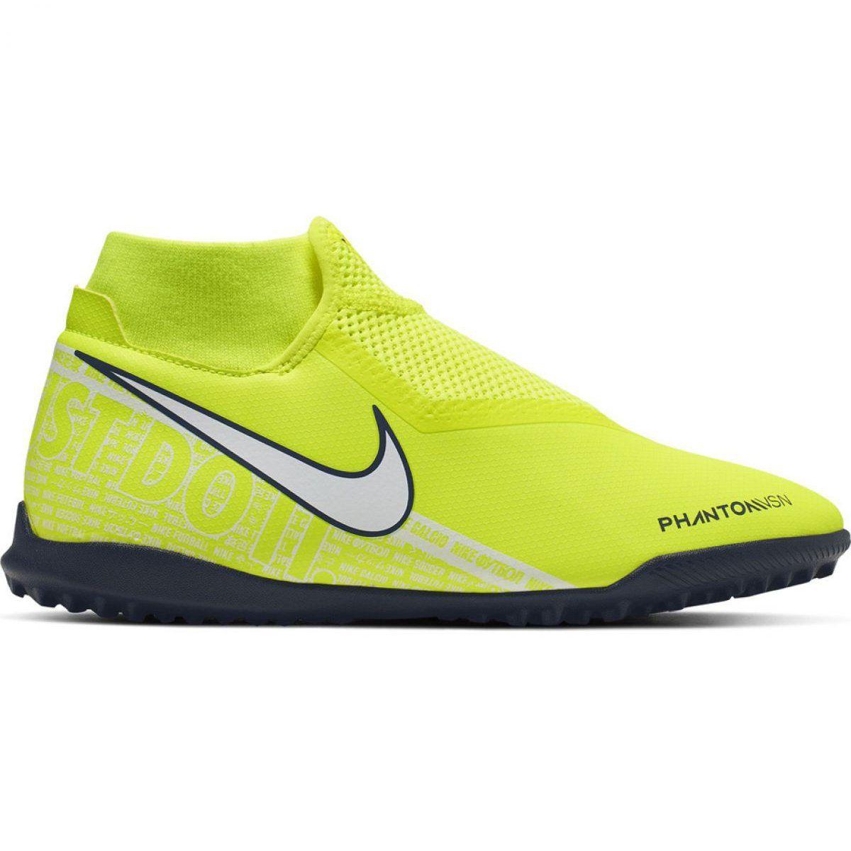 Buty Pilkarskie Nike Phantom Vsn Academy Df Tf M Ao3269 717 Zolte Zolte Football Shoes Nike Football Boots