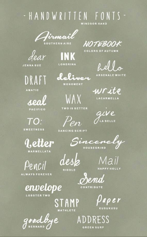 typografie handschriftlich  typographie manuscrite  tipografía manuscrita  typography design typography alphabet typography fonts typography poster typography han...