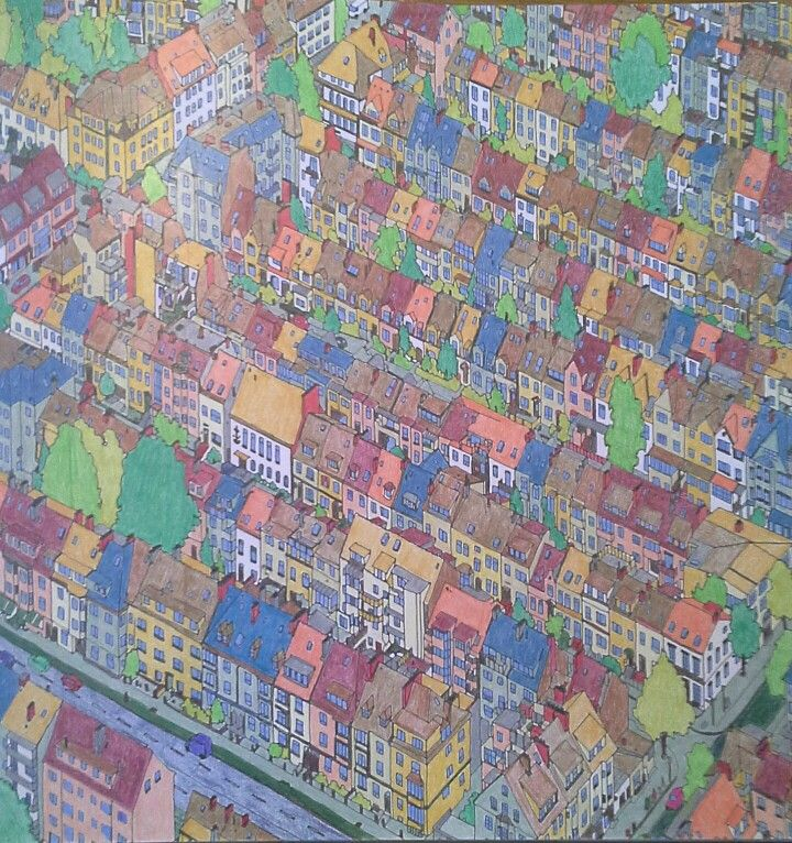 Bremen Germany Fantastic Cities Coloring Book Coloring Books City Photo