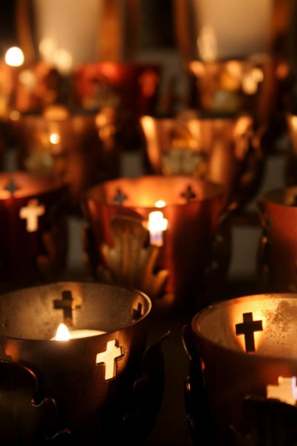 Candles at the Cathedral Basilica of Saint Augustine (circa 1797), St. Augustine, Florida