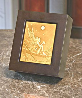 CATCH A FALLING STAR Lithophane Shadow Box by David Delamare  Price $52.99