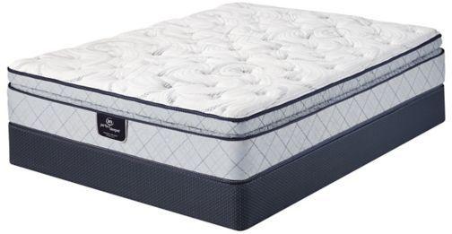 King Serta Perfect Sleeper Ashlyns Cove Super Pillow Top Mattress