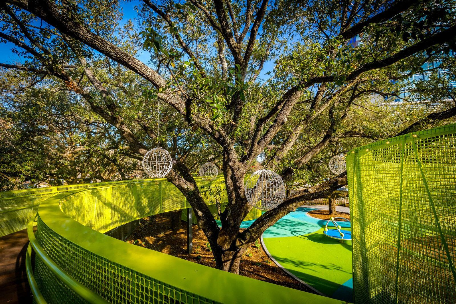 OJB Landscape Architecture Unveils Houstonu0027s New Open Space At Levy Park  Re Opening