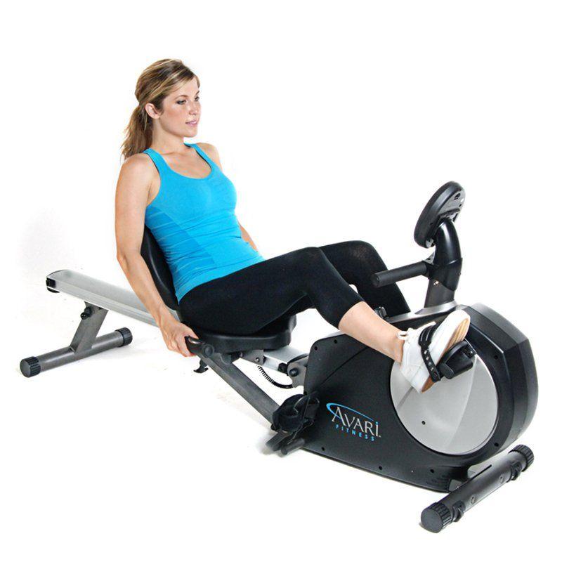 Stamina Avari Conversion Ii Rower Recumbent Exercise Bike Www Hayneedle Com Recumbent Bike Workout Biking Workout Exercise Bikes