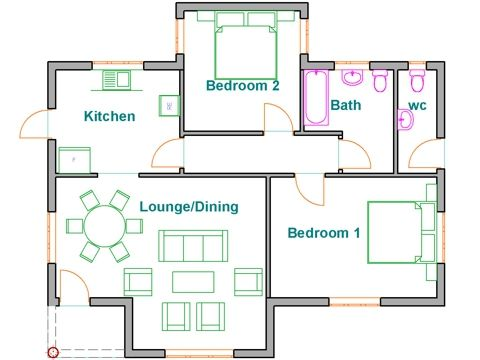Pin By Mbangoo On Zim House1 Free House Plans Budget House Plans House Plans