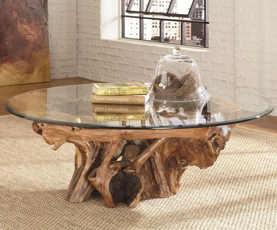 Rootball table Available at Delen Staging & Design or Staging