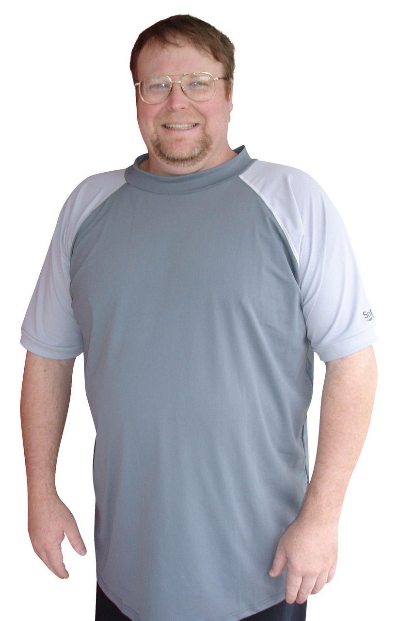 68c27da7cd1 Plus Size Rash Guard Swim Shirt - Solartex Sun Gear