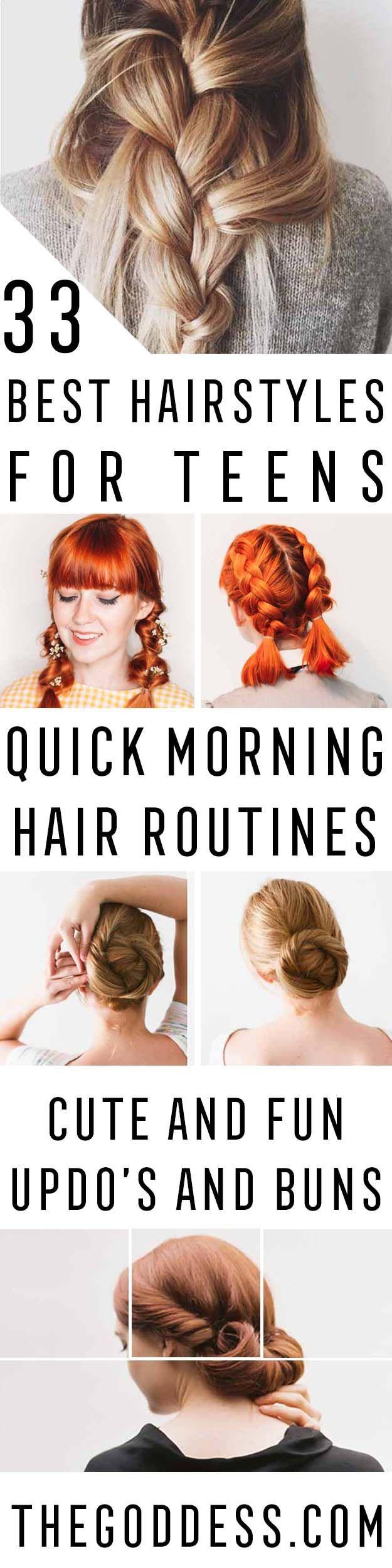 best hairstyles for teens teen hair medium length hairs and