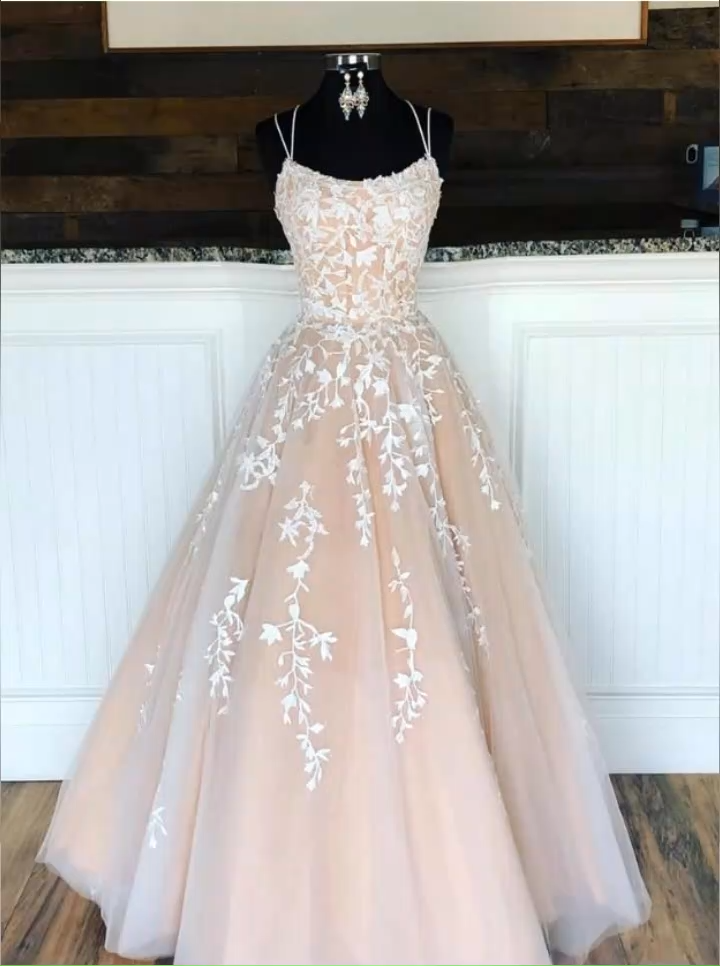 Champagne Prom Dresses Long, Winter Formal Dress, Pageant Dance Dresses, School Party Gown 1374 – Wedding✨