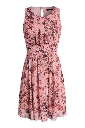 esprit jurk met bloemenprint