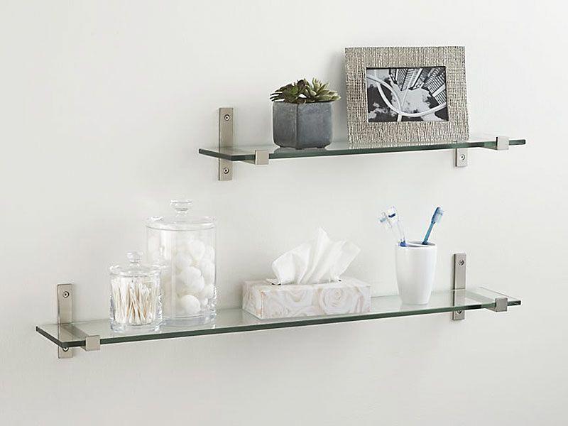 Glass Shelves At Home Depot Glass Shelves Decor Floating Shelves Bathroom Floating Shelves