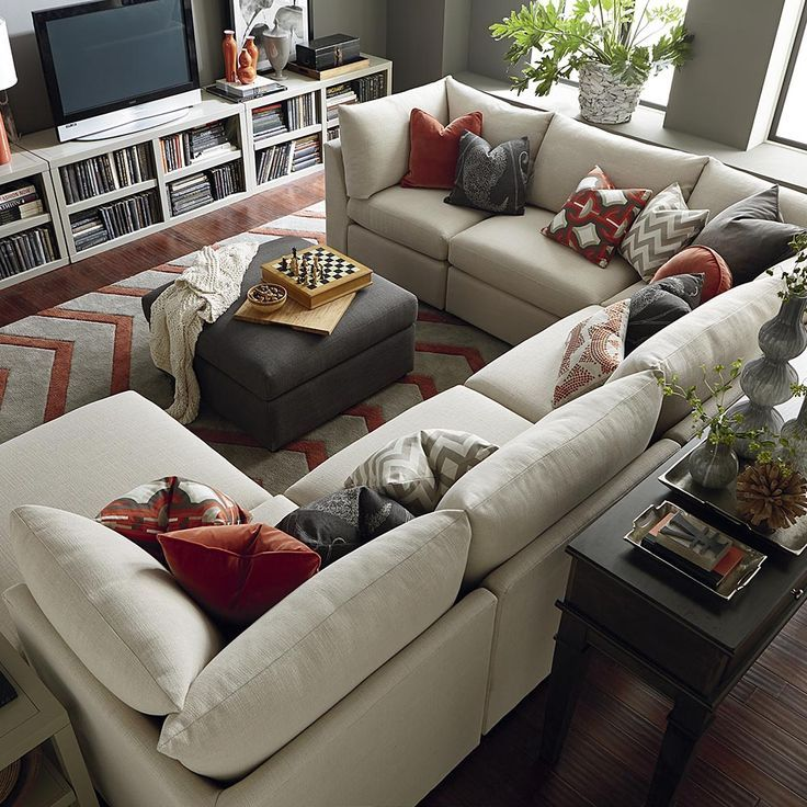 Importance Of U Shaped Sofa In The Furniture Market Livingroom