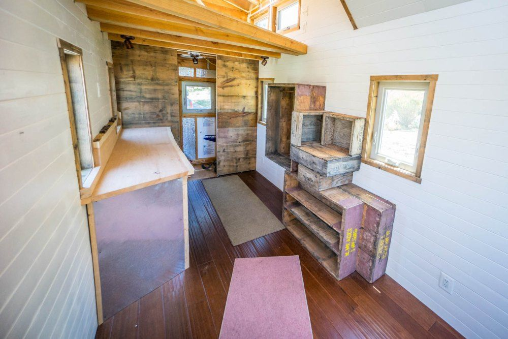 House · sneak peek inside our home tiny house giant journey