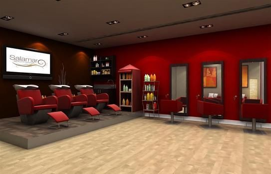Cabina De Estetica Nime Gijon : Decorar la peluquería rama salon de peluqueria