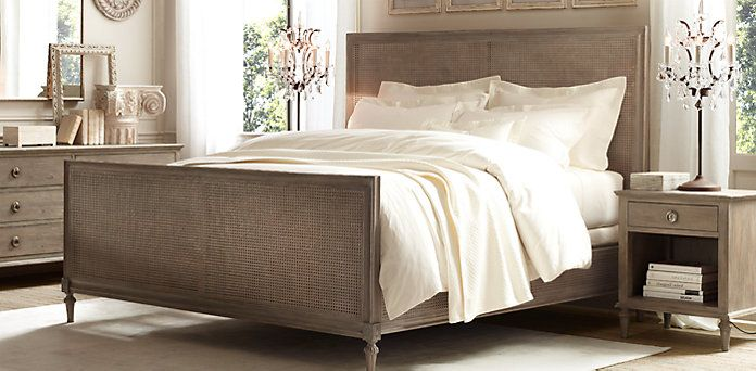 Maison Caned Collection | Restoration Hardware- Natural cane finish ...
