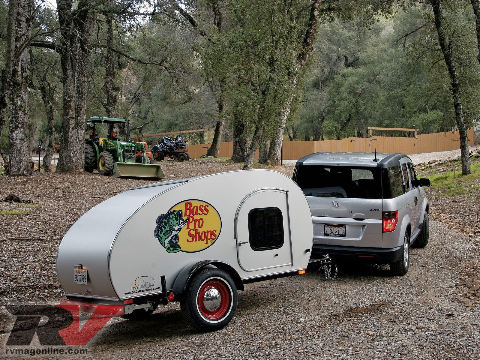 Lightweight Teardrop Camper minus the bass pro shop and ad some