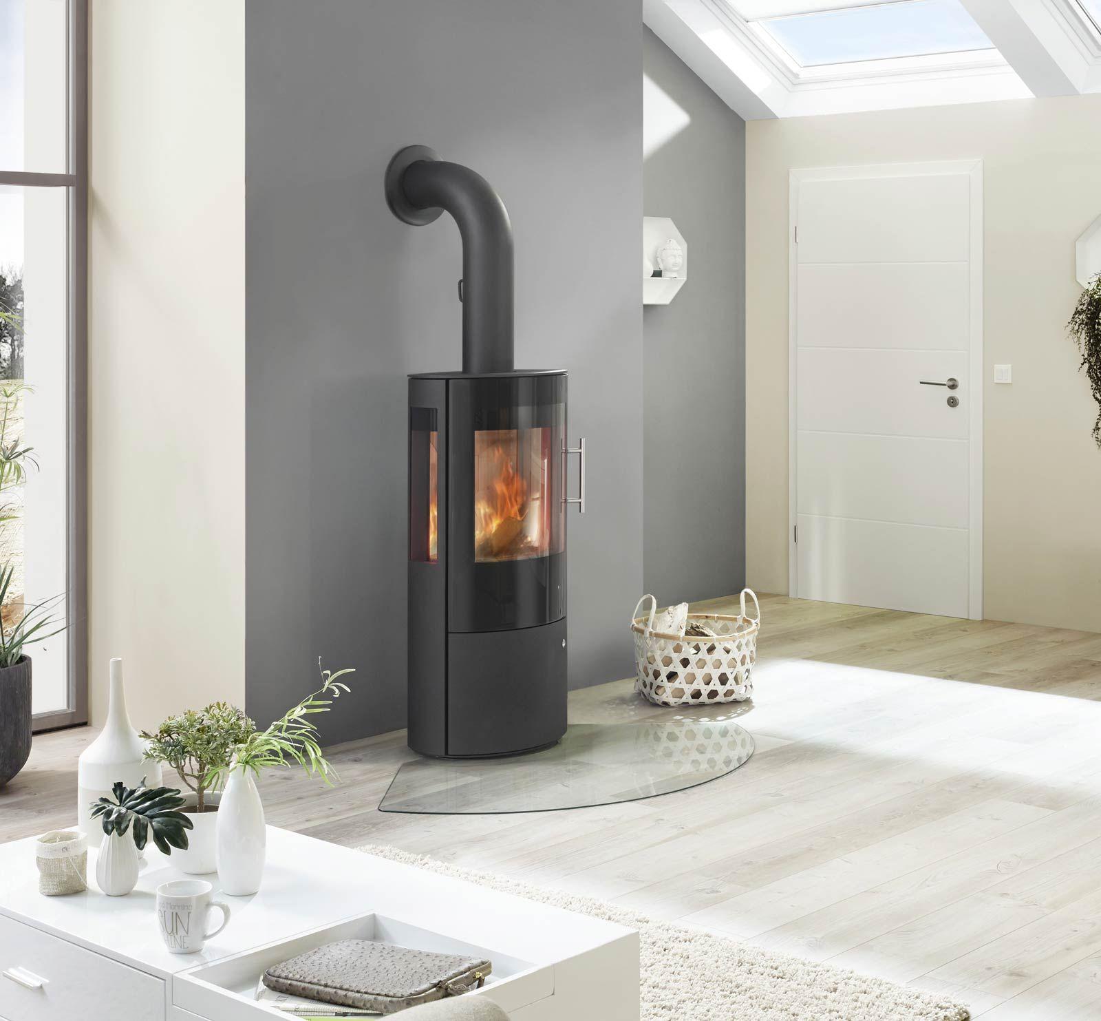 Kaminofen Königshütte DRACO Glastür 5 kW fireplace