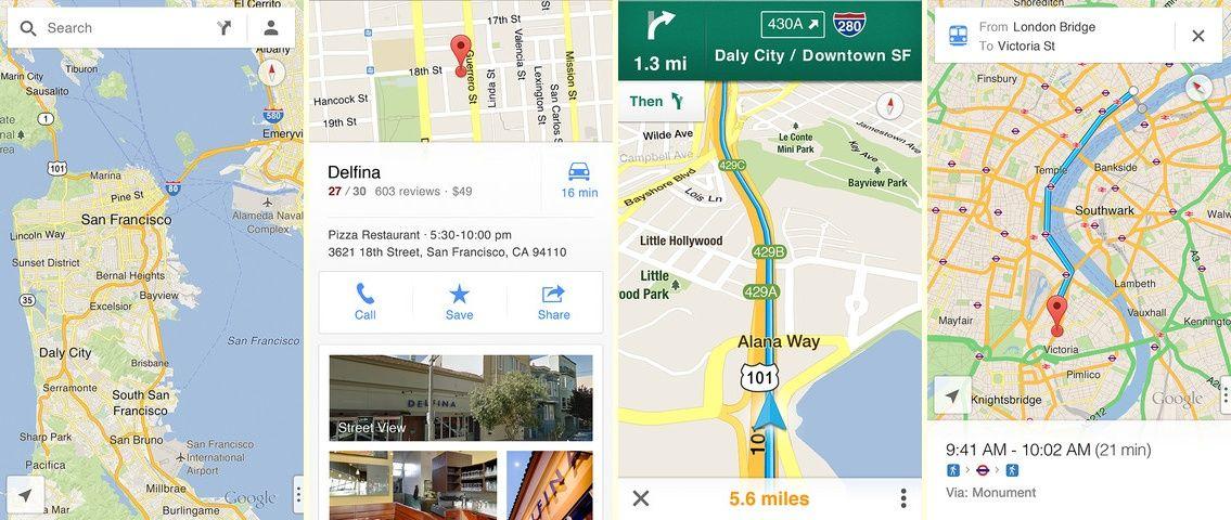 Google Maps for iOS Finally Available : Download Now ... on real racing 3 ios, apple maps ios, bing ios, google app ios, bloons td 5 ios, google messenger ios, nokia maps ios, google drive ios,