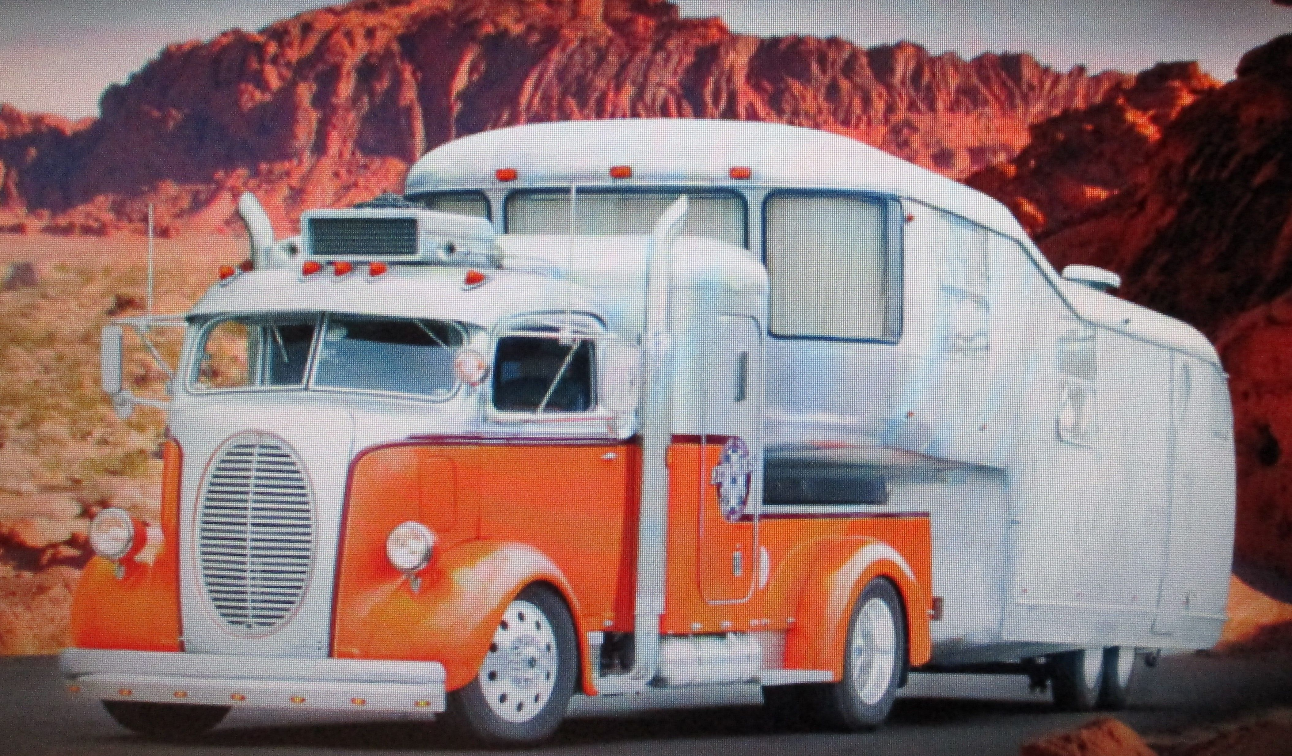 1938 Ford Coe With Vintage 5th Wheel Trailer Restored By Hot