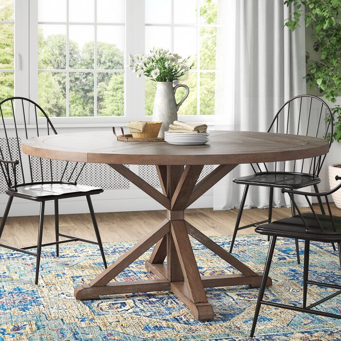 Alpert Solid Wood Dining Table Reviews Birch Lane Dining