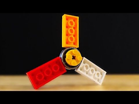 How to make a Lego Fid Hand Spinner DIY Fid Toy