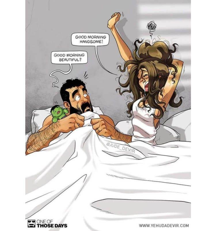 40 Ehrliche Illustrationen Über Ehe, Schwangerschaft und Familie - Kueez