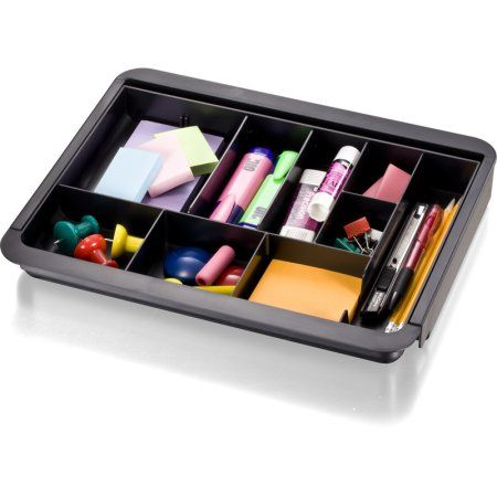 Officemate Oic Recycled Expandable Drawer Tray 10 3 8 16 Inches
