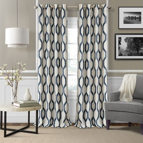 Found it at Joss & Main - Renzo Geometric Grommet Single Curtain ...