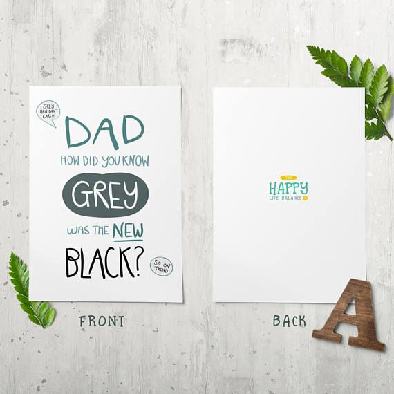 Fathers Day Card for Dad Printable Dad Card Funny Birthday – Printable Father Birthday Cards